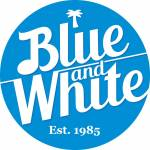 Coffeeshop Blue & White